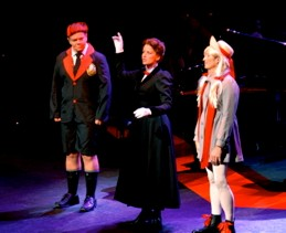 Anthony Drewe, Caroline Sheen & George Stiles Mary Poppins & children2